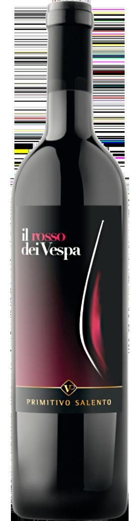 PUGLIA * Bruno Vespa - Il Rosso dei Vespa Primitivo 2018 (93 punti)