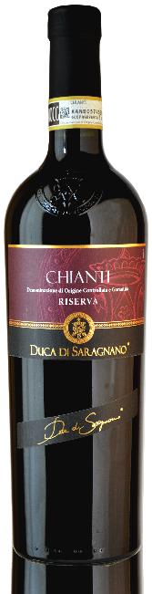 TOSCANA * Duca di Saragnano - Chianti Riserva 2015 (91 punti)