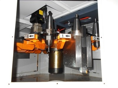 1 – USED INGERSOLL BOHLE BRIDGE TYPE CNC VERTICAL MACHING CENTER