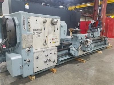 1 – USED BROADBENT MANUAL OIL COUNTRY LATHE