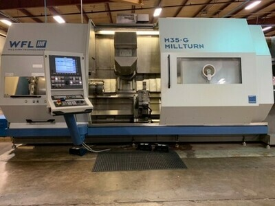 "1 – USED 20.47"" X 70.87"" MILLTURN 7-AXIS TURNING CENTER"