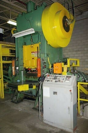 1 – USED 200 TON DANLY SSDC AIR CLUTCH PRESS