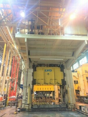 1 – USED 1,800 TON LVD DOUBLE ACTING HYDRAULIC PRESS