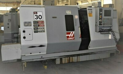 "1 – USED 30"" X 39"" HAAS CNC TURNING CENTER"