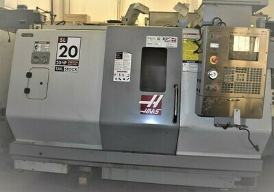 "1 - USED 23"" X 24"" HAAS VECTOR DUAL DRIVE CNC TURNING CENTER"