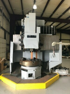 "1 – USED 59""/49"" TOS CNC VERTICAL TURRET LATHE"