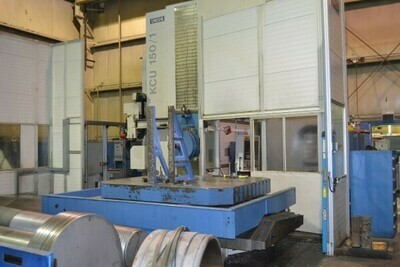 "1 - USED 6"" UNION CNC PLANER TYPE HORIZONTAL BORING MILL"