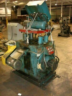1 – USED 20 TON DAHLSTROM 4-POST CUT-OFF PRESS