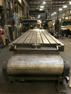 "1 – USED 72"" X 48"" X 18' FUTURMILL/CINCINNATI DOUBLE HOUSING PLANER MILL"