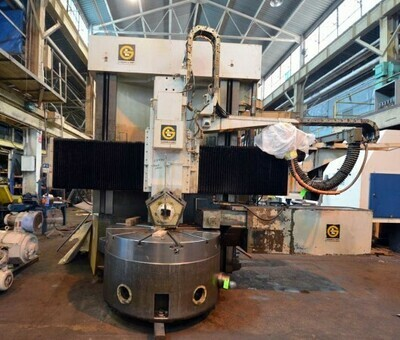 "1 - USED 60""/72"" G&L CNC VERTICAL TURRET LATHE"