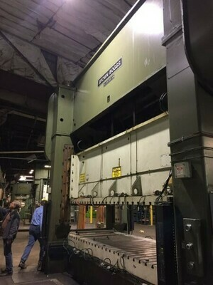 1 - USED 600 TON BROWN BOGGS SSDC PRESS