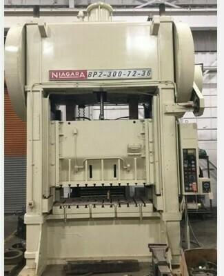 1 - USED 300 TON SSDC NIAGARA