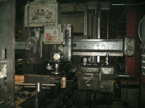 """1 - USED 42"""" X 42"""" X 13' INGERSOLL DH PLANER MILL"""