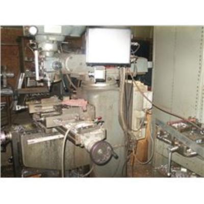 1 - USED 2 HP CLAUSING-KONDIA PROTOTRAK VERTICAL MILLING MACHINE