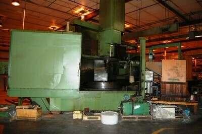 "1 - USED 78""/97"" DORRIES SCHARMAN CNC VERTICAL BORING MILL WITH LIVE TOOLING"