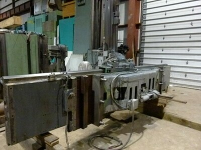 """1 - USED 84""""/96"""" GRAY SERIES 60 VERTICAL BORING MILL"""