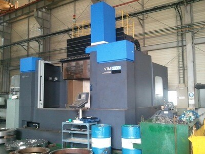 "1 - USED 105"" WHACHEON CNC VERTICAL BORING MILL WITH LIVE SPINDLE (2011)"