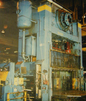 1 – USED 1000 TON BLISS STRAIGHT SIDE MECHANICAL PRESS