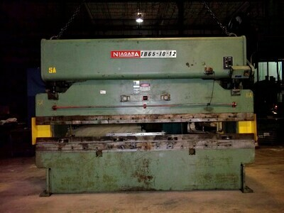 1 - USED 100 TON NIAGARA MECHANICAL PRESS BRAKE