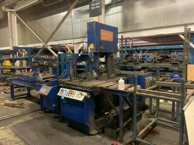 "1 - USED 18"" X 20"" MARVEL VERTICAL TILT BAND SAW"
