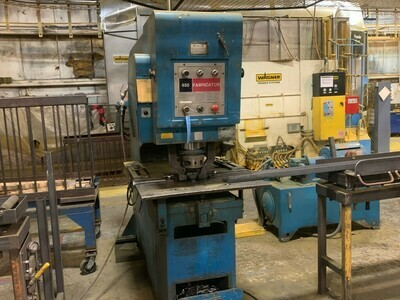 ​1 - USED 50 TON W.A. WHITNEY HYDRAULIC FABRICATOR / PUNCH