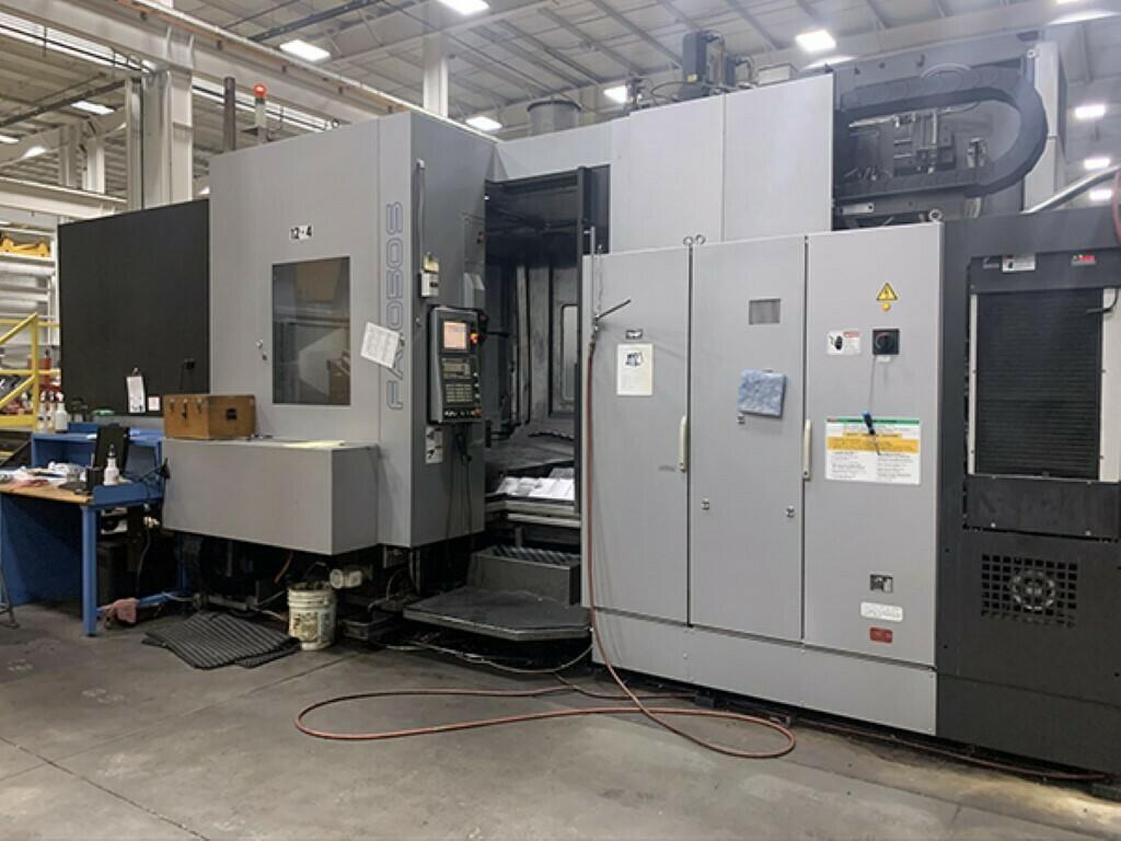 1 - USED TOYODA FA1050S CNC HORIZONTAL MACHINING CENTER