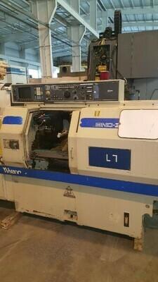 """1 - USED 5.5"""" X 11"""" MIYANO BND 34S CNC TURNING CENTER"""