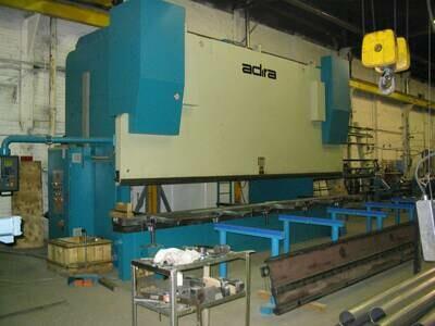 1 – USED 770 TON  X 20' ADIRA CNC HYDRAULIC PRESS BRAKE