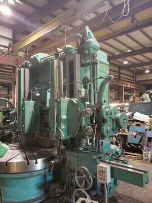 """1 - USED 72"""" KING VERTICAL BORING MILL"""