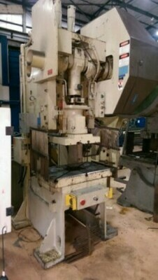 1 - USED 60 TON BLISS GAP FRAME FLYWHEEL PRESS