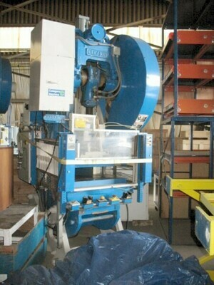 1 - USED 75 TON CLEARING OBI BACK GEARED PRESS