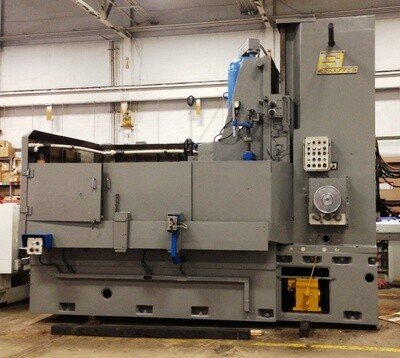 """1 - USED 66"""" SCHAFFER ROTARY BLANCHARD TYPE SURFACE GRINDER"""