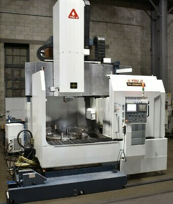 "1 - USED 49"" YOUJI CNC VERTICAL BORING MILL"