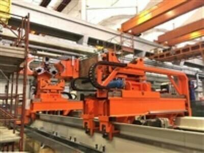 """1 - NEW 48"""" DIAMETER 3,000 TON GALDABINI AUTOMATIC PIPE STRAIGHTENING MACHINE"""