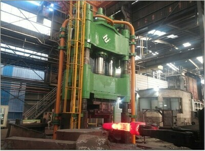 1 - USED 2,500 TON MODEL FGP-2500 OPEN DIE FORGING PRESS