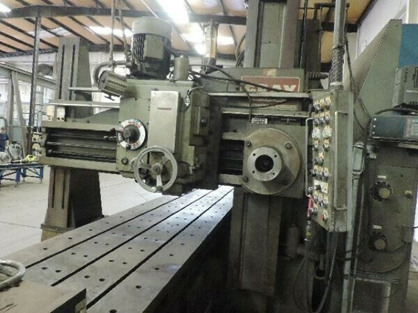 "​1 - USED 36"" X 36"" X 240"" GRAY OPEN SIDE PLANER MILL"
