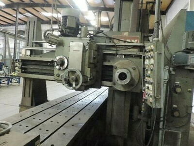 """1 - USED 36"""" X 36"""" X 240"""" GRAY OPEN SIDE PLANER MILL"""