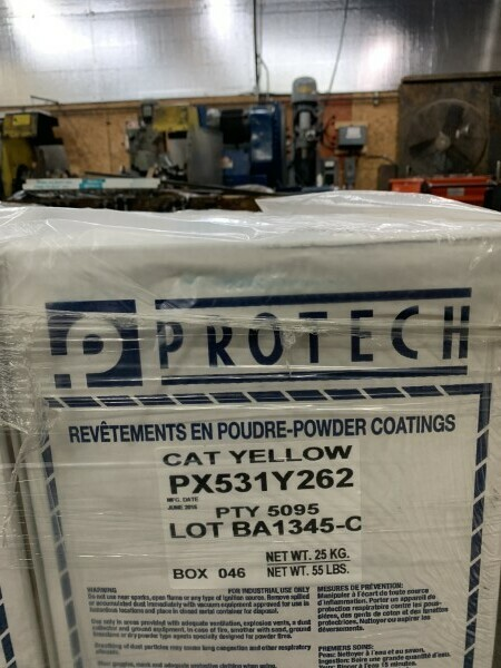 27- NEW 55 LB BOXES OF POWDER COAT PAINT BY PROTECH