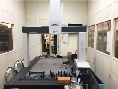 "1 - USED 59"" X, 39"" Y, 27"" Z WENZEL CMM"