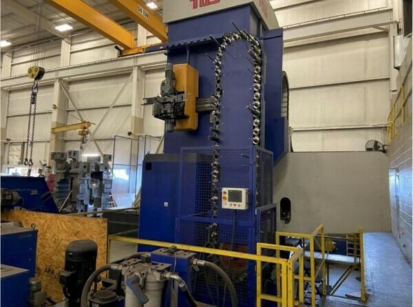 "1 - USED 5"" TOS VARNSDORF CNC FLOOR TYPE HORIZONTAL BORING MILL"