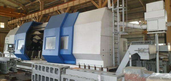 1 - USED 5-AXIS NILES SIMMONS CNC SLANT BED TURN/MILL