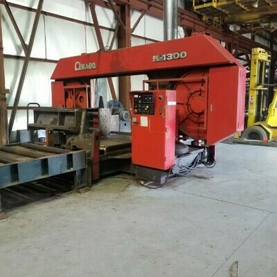 "​1 - USED 51"" X 51"" AMADA HORIZONTAL BAND SAW"