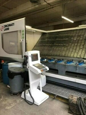 1 - USED CINCINNATI MAG FTV 840-3700 VERTICAL MACHINING CENTER