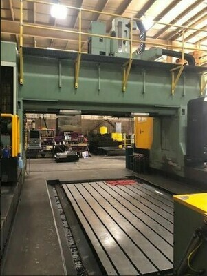 "1 - USED 216"" X 157"" JOMACH J-245 5-AXIS GANTRY MILL"