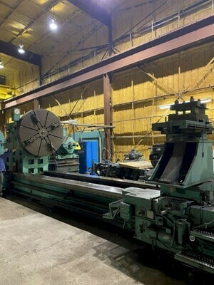 "1 - USED 120"" X 480"" NILES A72 ENGINE LATHE"