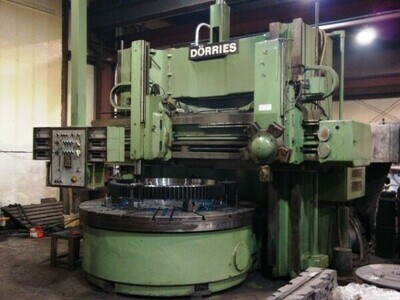 "1 - USED 98"" DORRIES VERTICAL BORNING MILL TURRET LATHE"