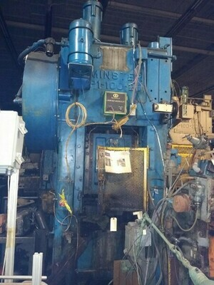 17 - USED 100 TON MINSTER HIGH SPEED PRESS