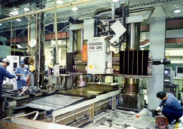 "1 - USED 108"" X 63"" S.N.K. BRIDGE TYPE CNC VERTICAL MACHINING CENTER"