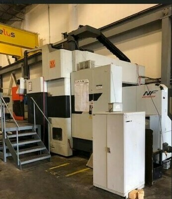 1 - USED VISION WIDE NF-3226 CNC BRIDGE TYPE VERTICAL MACHINING CENTER