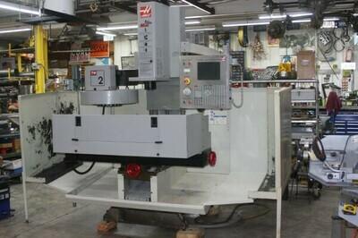 1 - USED HAAS TM-2 TOOL ROOM VERTICAL MACHINING CENTER, REV2